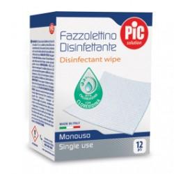 Pic Solution Fazzolettini Disinfettanti 12 pezzi