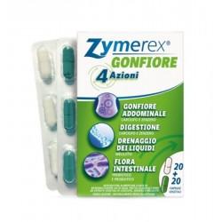 FarmaPro Zymerex Gonfiore Integratore contro il gonfiore addominale 40 capsule vegetali