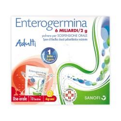 Sanofi Enterogermina 10 Bustine Alterazione Flora Batterica 6 miliardi/2 g