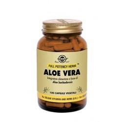 Aloe Vera 100 Capsule Vegetali