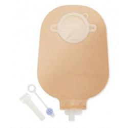 Sacca Per Urostomia Dansac Nova 2 Anatomica Trasparente Midi Con Rubinetto Di Chiusura Di Sicurezza 55mm 10 Pezzi + 1 Adattator