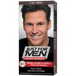 Just For Men Shampoo Colorante H55 Nero