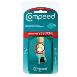Johnson & Johnson Compeed Vesciche Cerotto Invisibile 5 Pezzi