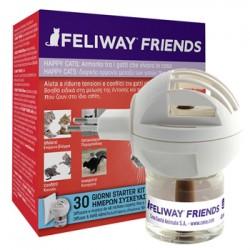 Feliway Friends Diffusore per ridurre i conflitti in casa tra gatti + Ricarica Da 48 ml