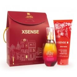 Bionike Xsense kit Natale 2020 olio 15 frutti 100 ml + doccia schiuma velvet vanilla 200 ml