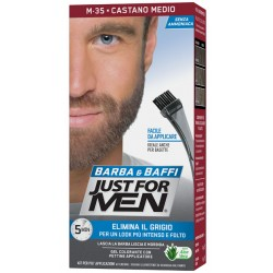 Just For Men Barba & Baffi M35 Castano Medio 51 G