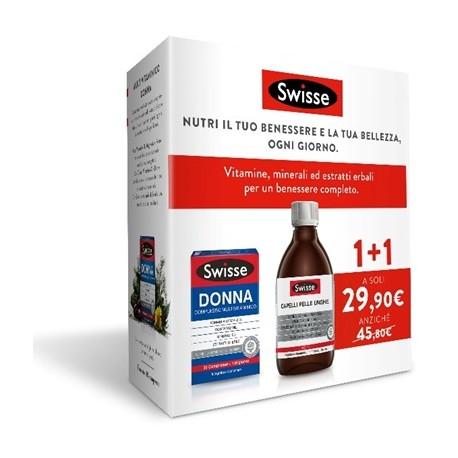 Swisse Bi-pack Capelli Pelle Unghie Liquido ...