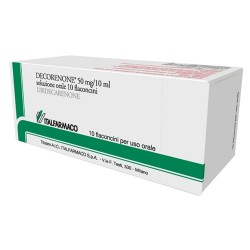 DECORENONE 50*os soluz 10 flaconcini 50 mg 10 ml