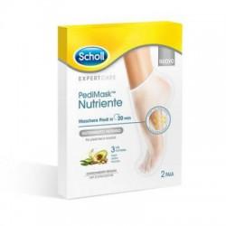 Scholl Perdimask Expertcare Nutriente Maschera per i piedi con 3 oli 2 paia