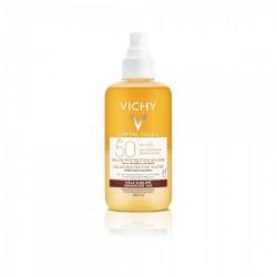 Vichy Acqua Solare Spray Corpo per Abbronzatura Intensa con beta-carotene e Spf50