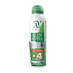 Spray&Go Aloe Attiva Potenziata titolata 4x 150ml