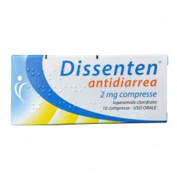 DISSENTEN ANTIDIARREA*10 cpr 2 mg