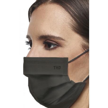 Thd Face Mask Mascherina Chirurgica Balsamica 10 pezzi (NERA)