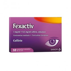 Fexactiv Collirio 10 flaconcini mondose da 0,5 ml