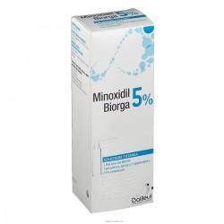 Minoxidil Biorga (Laboratoires Bailleul) 5% soluzione cutanea 1 flacone Hdpe 60ml.