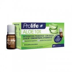 Prolife Aloe 10X integratore probiotico 10flaconcini da 8ml.