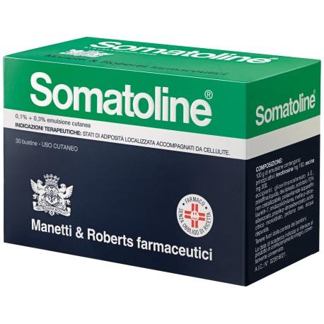 Somatoline emulsione cutanea anticellulite 30 bustine