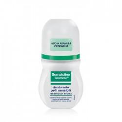 Somatoline Cosmetic Deodorante Pelli Sensibili Roll-on 50 ml