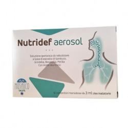 Nutrileya Mosaico Nutridef Aerosol Tosse 10 Fiale 3 Ml