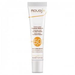 Rougj crema solare viso SPF50+ Protezione molto alta 40ml.