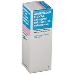 AMBROXOLO (HEXAL) soluzione da nebulizzare 100 ml 7,5 mg/ml