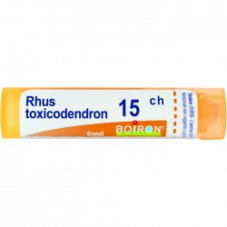 Boiron Rhus Toxicodendron 15CH Granuli Omeopatici 4 g