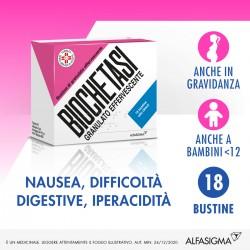 Biochetasi Granulato Effervescente 18 bustine