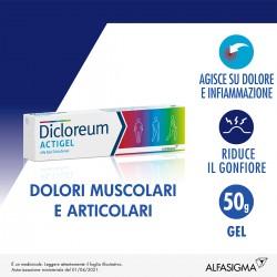 Alfasigma Dicloreum Actigel Gel 50 g 1%