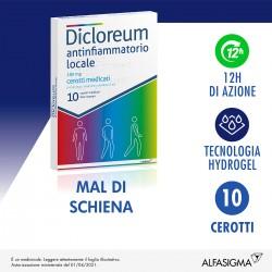 Alfasigma Dicloreum Antinfiammatorio Locale 10 Cerotti 180 mg