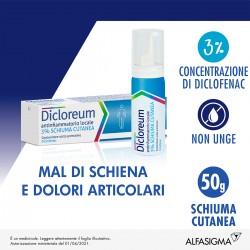 Alfasigma Dicloreum Antifiammatorio Locale 3% Schiuma Cutanea