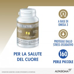 Alfasigma Fish Factor Plus 160 Perle Piccole per Colesterolo