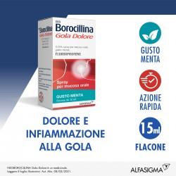 Alfasigma Neoborocillina Gola Dolore Spray 15 ml