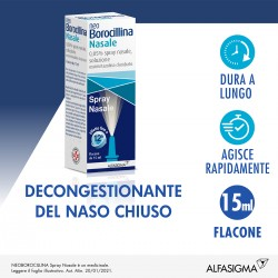 Alfasigma Neoborocillina Nasale Spray Nasale 15 Ml 0,05%