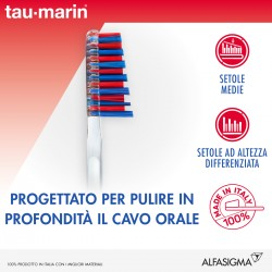 Alfasigma Taumarin Spazzolino Antitartaro Normale Con Setole Dure