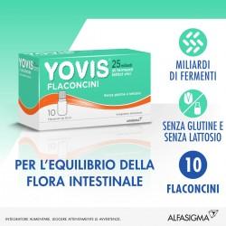 Alfasigma Yovis 10 flaconcini integratore di fermenti lattici