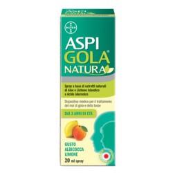 Aspi Gola Natura Spray Albicocca e Limone