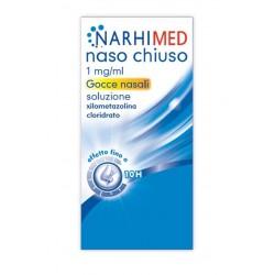 Glaxo Narhimed Naso Chiuso Gocce Nasali 10 ml 1 mg/ml