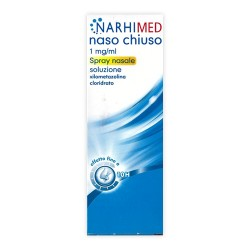 Glaxosmithkline C.Healt. Narhimed Spray per Naso Chiuso Adulti 10 ml 1mg/ml