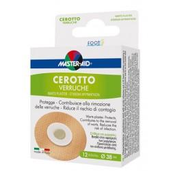 Cerotto Verruche Master-aid Foot Care 12 Pezzi
