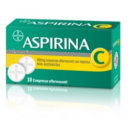 Bayer Aspirina C Analgesico 10 Compresse Effervescenti 400 mg + 240 mg