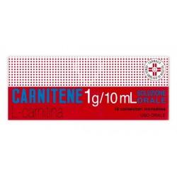 Alfasigma Carnitene Soluzione Orale Soluzione 10 Flaconcini 1 g