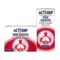 Johnson Actigrip Tosse Sedativo 24 Pastiglie 15 mg