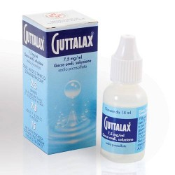Sanofi Guttalax Soluzione Orale Gocce 15 Ml 7,5 Mg/ml