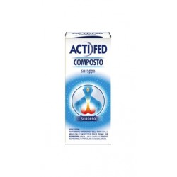 Actifed Composto Sciroppo Decongestionante Nasale 100 ml