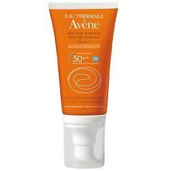 Avène Eau Thermale Avene Emulsione Solare Spf 50+ Senza Profumo 50 Ml
