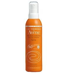 Avène Eau Thermale Avene Spray Solare Spf 50+ 200 Ml