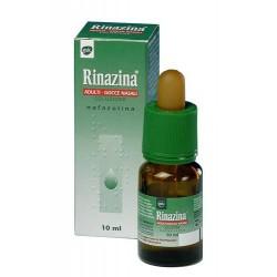 Glaxosmithkline C. Healt. Rinazina Adulti Gocce Nasali 10 ml Decongestionante Nasale