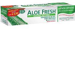 Esi Aloe Fresh Dentifricio Gel alla Menta Con Cristalli 100 ml