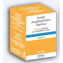 Zentiva Acido Acetilsalicilico 20 Buste 500 mg