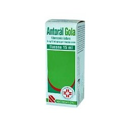 Recordati Antoral Gola Spray 15 Ml 5 Mg/10 Ml
